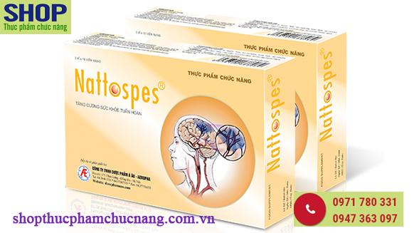 Nattospes giúp phòng ngừa tai biến mạch máu não hiệu quả