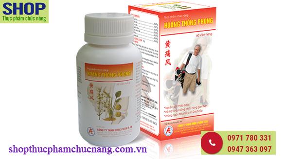 Hoàng Thống Phong hiệu quả trong điều trị gút