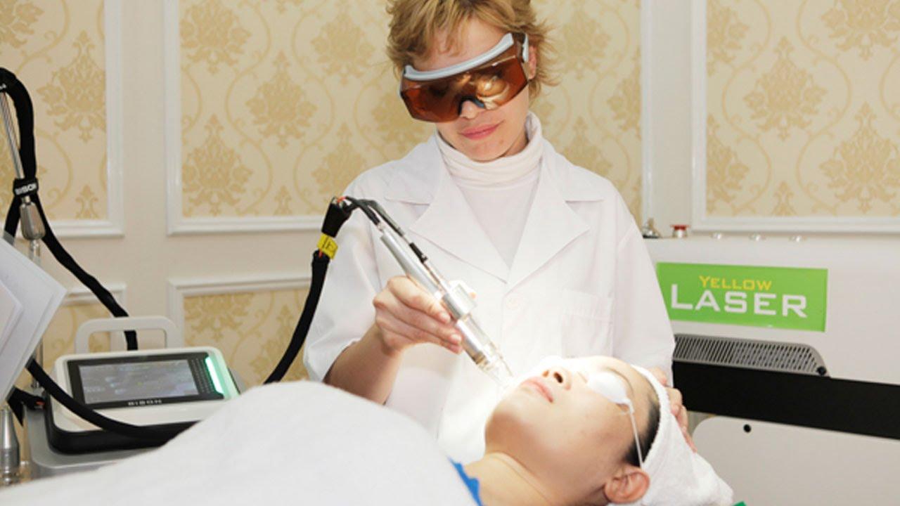 Điều trị tàn nhang bằng laser có độ xung ngắn